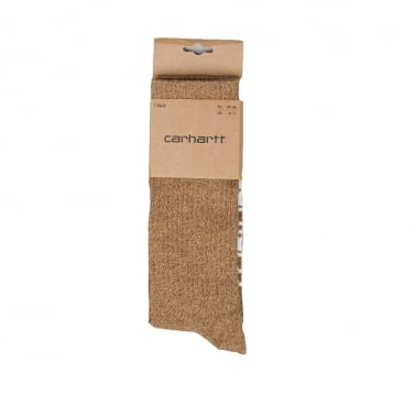 Basic Socks Brown Heather