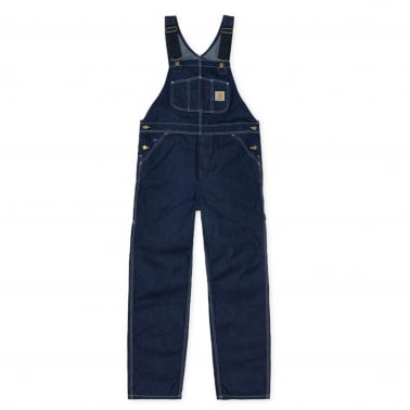 Bib Overall - Blue Rinsed