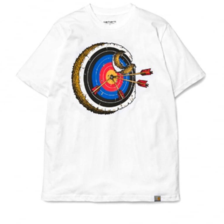 Carhartt WIP Bullseye T-shirt - White