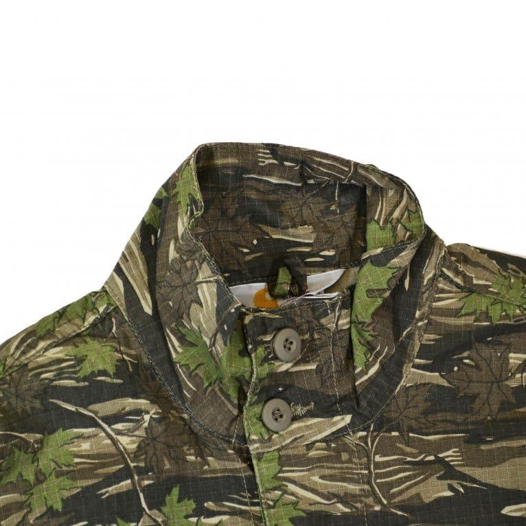 Carhartt WIP Camo Force Jacket - Leaf