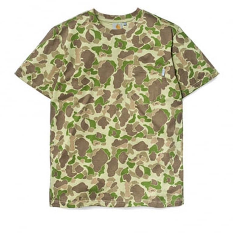 Carhartt WIP Camo Pocket T-shirt - Camo Outdoor
