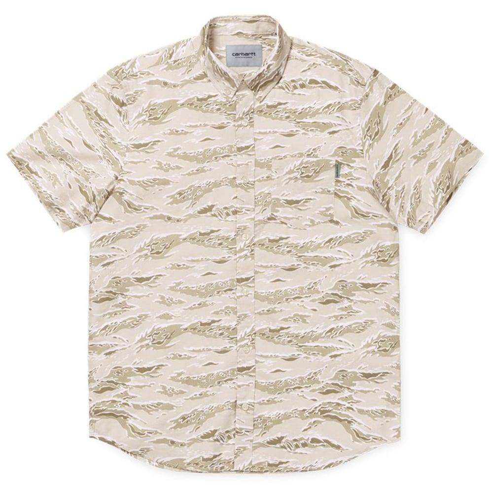 3a24746bfb Carhartt WIP Camo Tiger Shirt