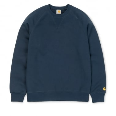 Chase Sweater - Blue Penny