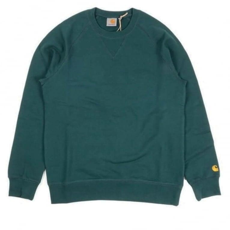 Carhartt WIP Chase Sweatshirt - Sequoia