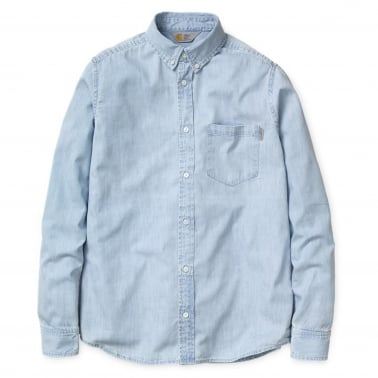 Civil Shirt - Blue (Stone Bleached)