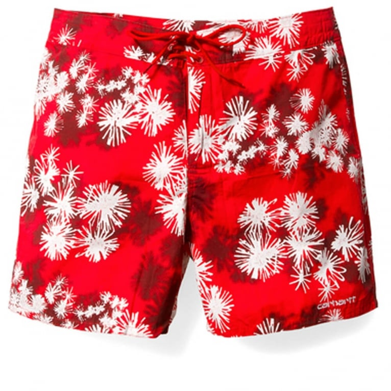 Carhartt WIP Cliff Shorts - Red