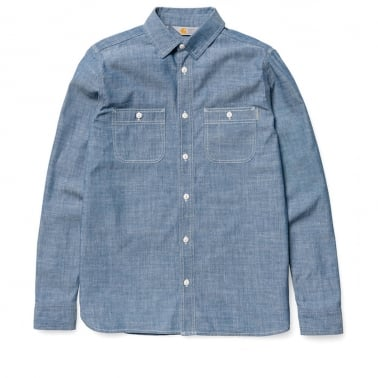 Clink Shirt - Blue Rinsed