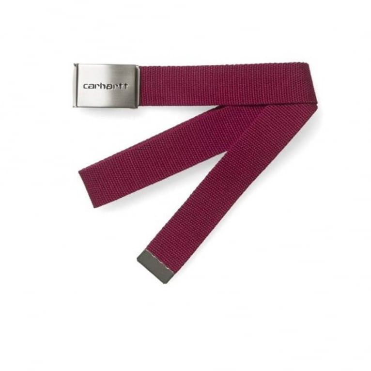 Carhartt WIP Clip Belt - Grape