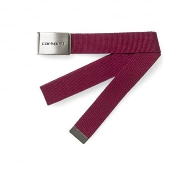 Clip Belt - Grape