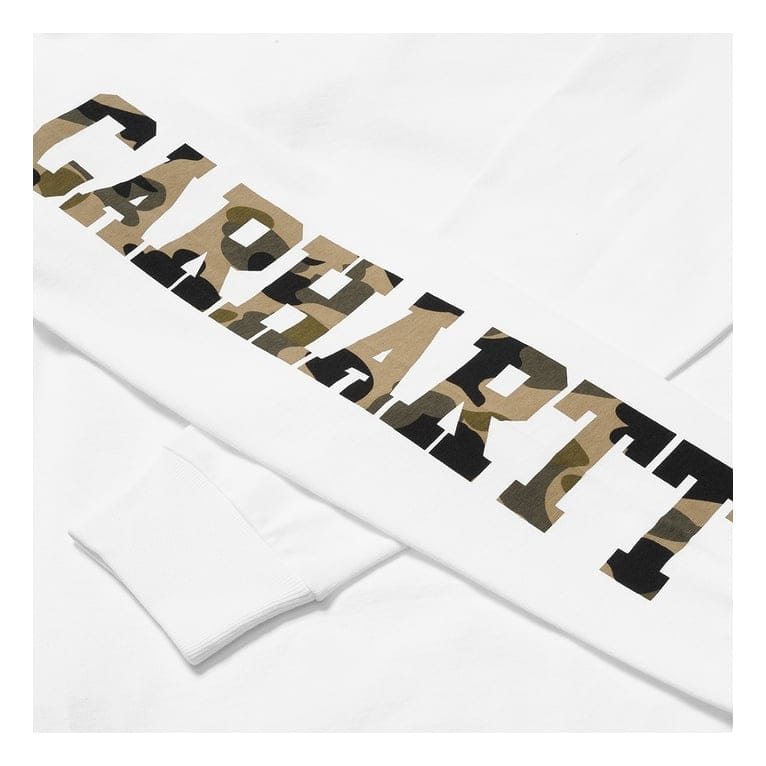 Carhartt WIP College Left Long Sleeve Tee