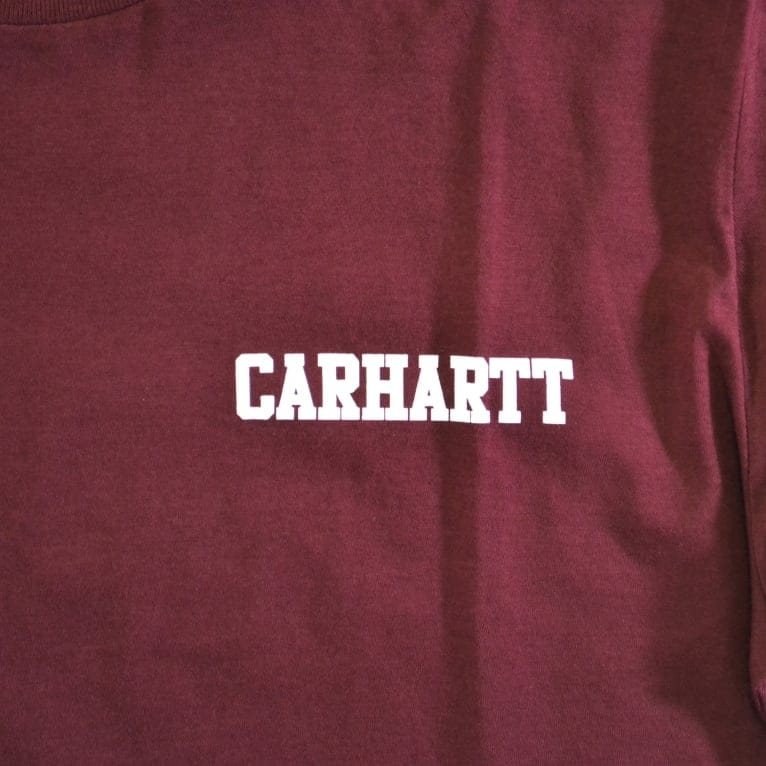 Carhartt WIP College Script LT T-shirt