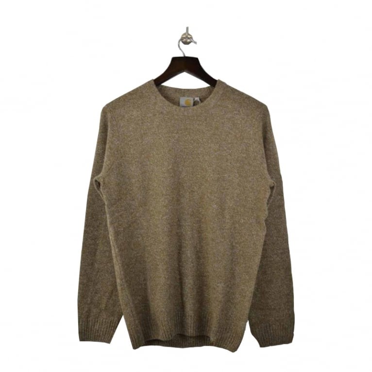 Carhartt WIP Convoy Sweater - Hamilton Brown
