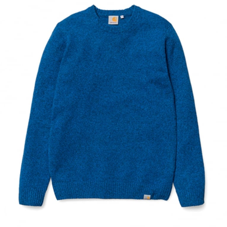 Carhartt WIP Convoy Sweater - Imperial Blue