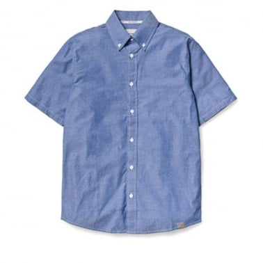 Cooke Short Sleeve Shirt - Blue