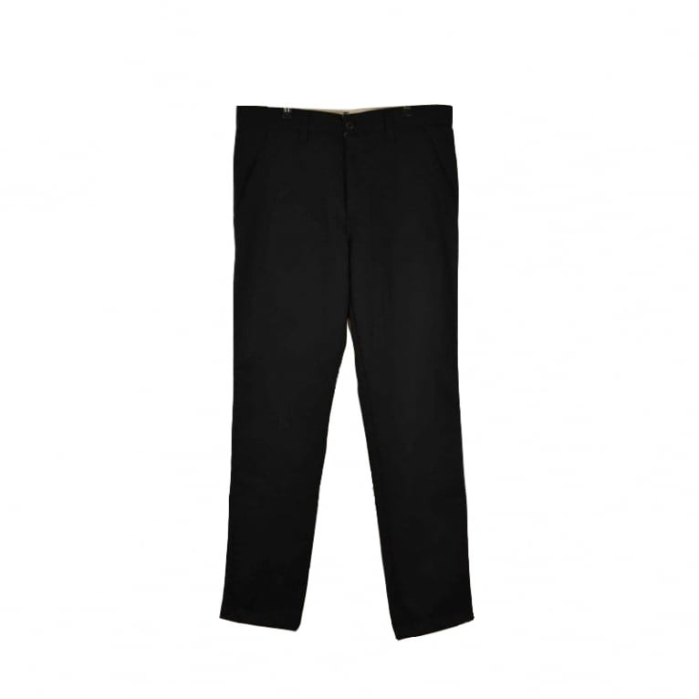 Carhartt WIP Dander Vegas Trousers - Black Rigid