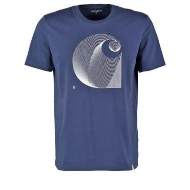 Dimensions T-shirt - Blue