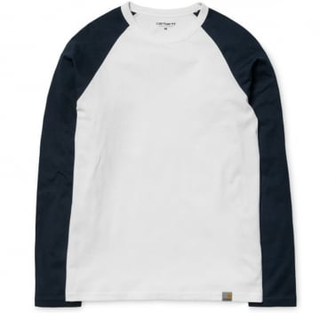 Dodgers Long Sleeve T-shirt - Grey Heather/Black