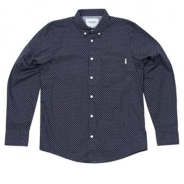 Dots Shirt - Navy/White