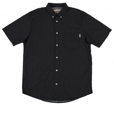 Dots Short Sleeve Shirt - Navy