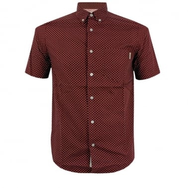 Dots Short Sleeve Shirt - Varnish