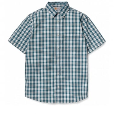 Drive Short Sleeve Shirt - Carribean