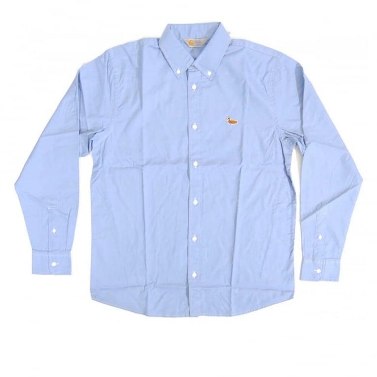 Carhartt WIP Duck Shirt - Blue Rinsed
