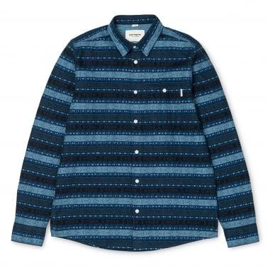 Ethnic Shirt - Blue Stone