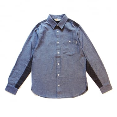 Geoffrey Shirt - Blue/Graphite
