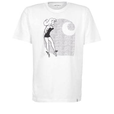 Girl Tee - White/Black