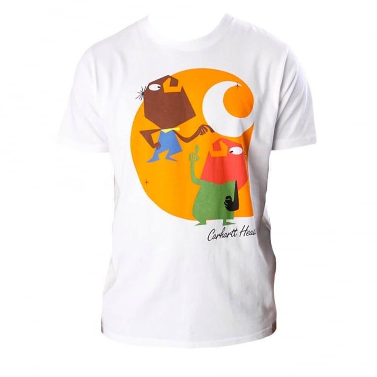 Carhartt WIP Heads T-shirt - White