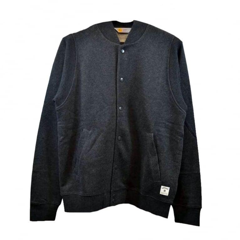Carhartt WIP Holbrook College Jacket - Black Heather