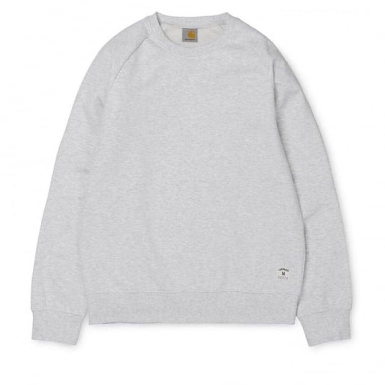 Carhartt WIP Holbrook Crewneck Sweatshirt - Grey