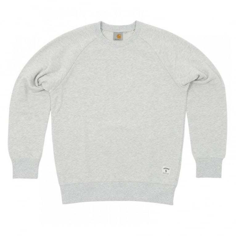 Carhartt WIP Holbrook Crewneck Sweatshirt - Light Grey