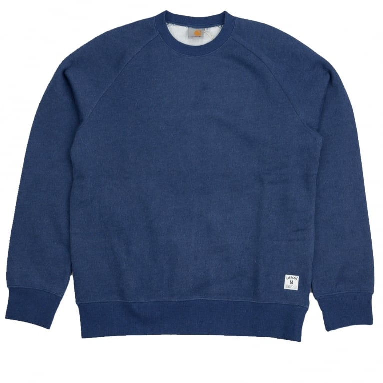 Carhartt WIP Holbrook Sweat - Blue Heather