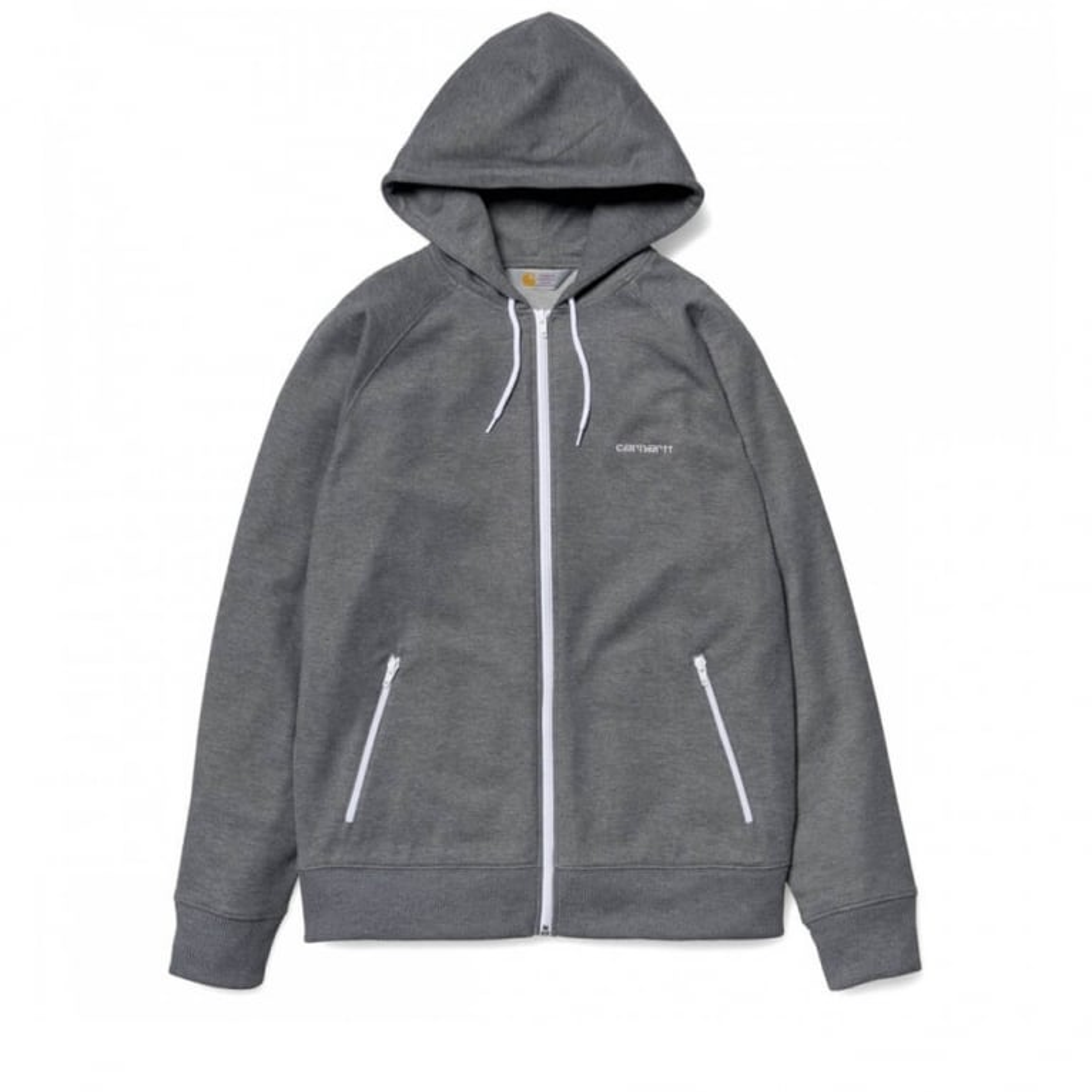 Carhartt WIP Hooded Gym Jacket - Dark Grey