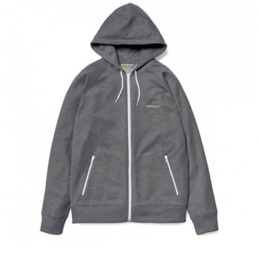 Hooded Gym Jacket - Dark Grey