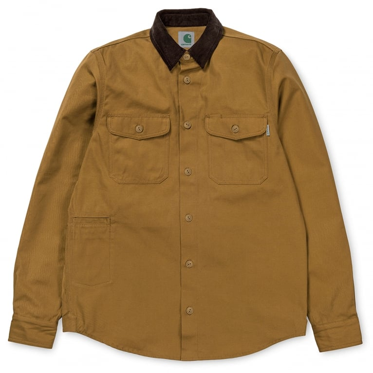 Carhartt WIP Hunting Shirt - Hamilton Brown