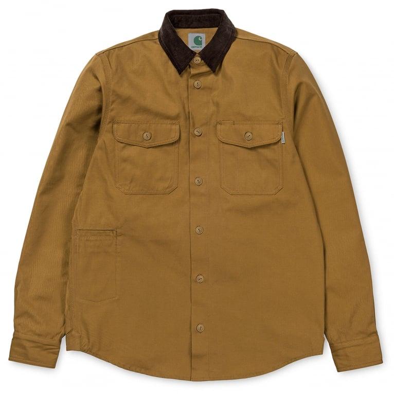 Carhartt WIP Hunting Shirt - Hamilton Brown
