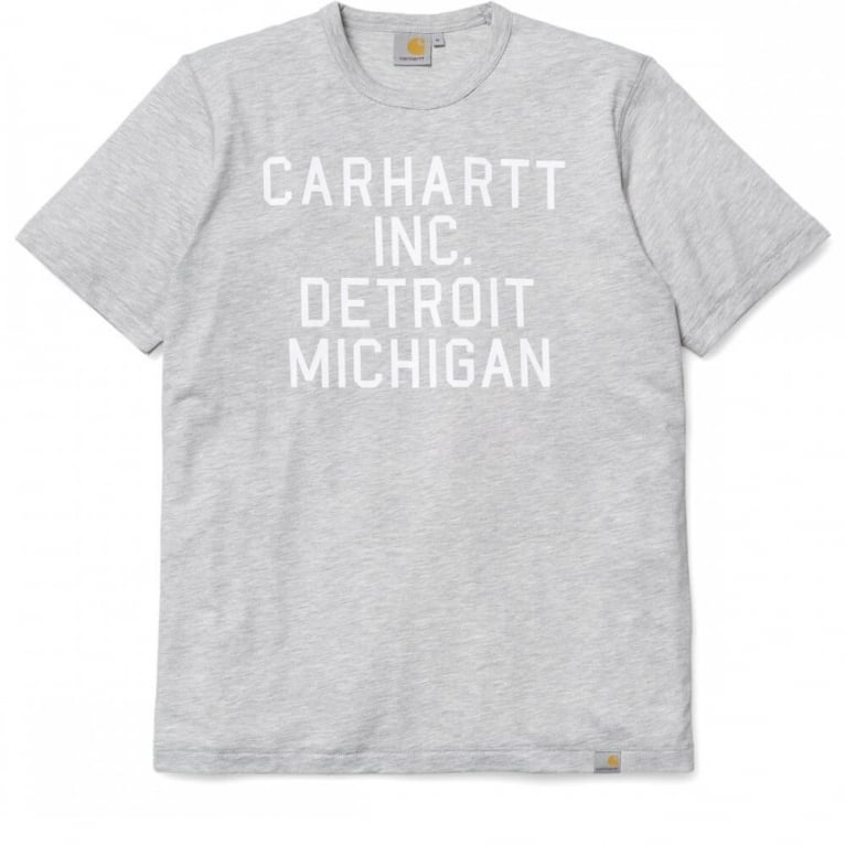 Carhartt WIP Inc T-shirt - Grey Heather