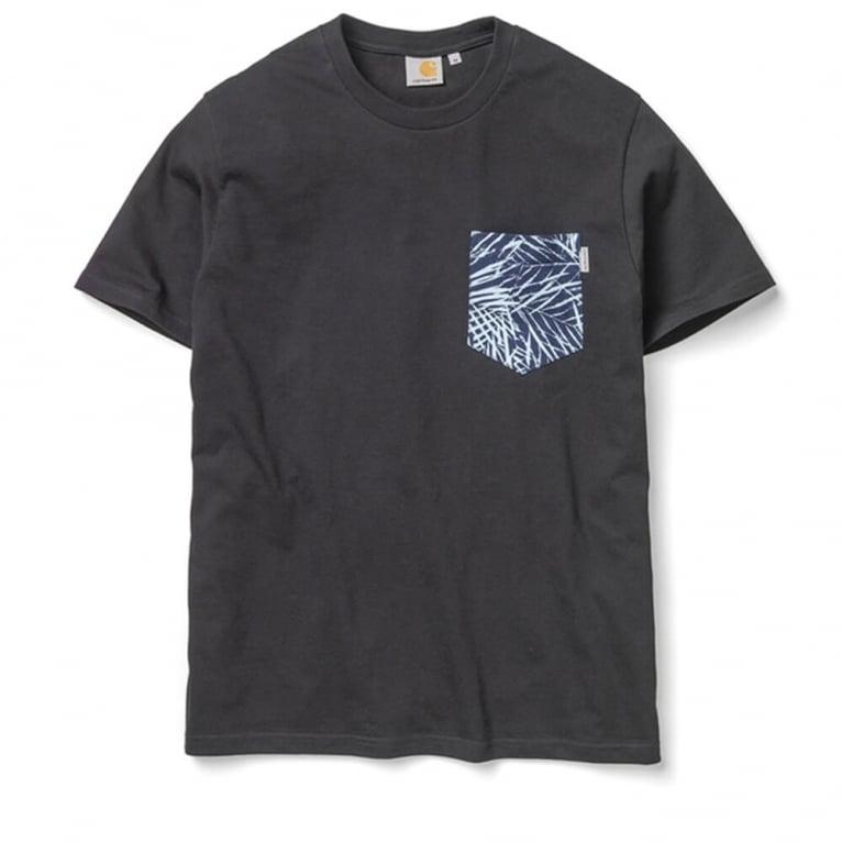 Carhartt WIP Lambert T-shirt - Black/Palmprint
