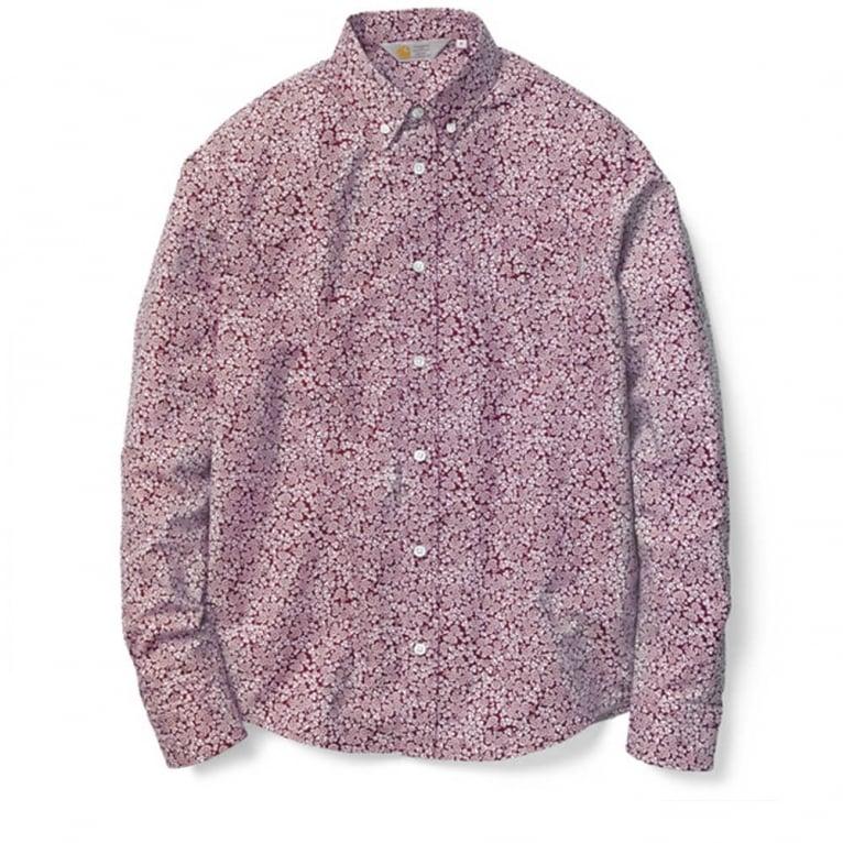 Carhartt WIP Langley Shirt - Cordovan