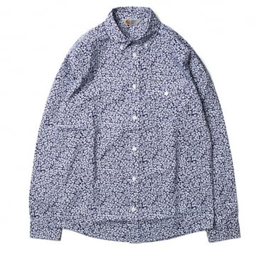 Langley Shirt - Metro Blue