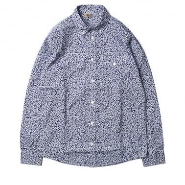 Langley Shirt - Metro Blue