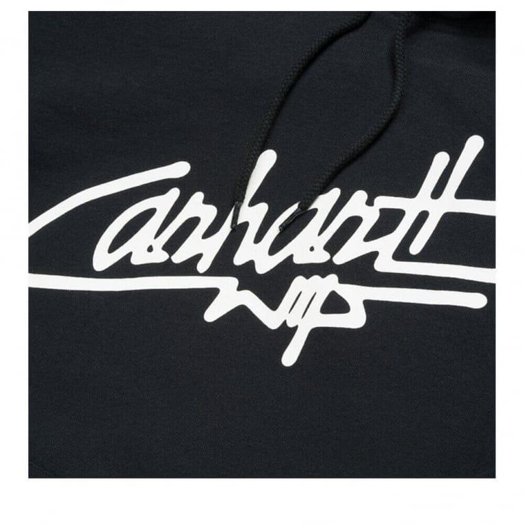 Carhartt WIP Locals Hoodie - Black/White