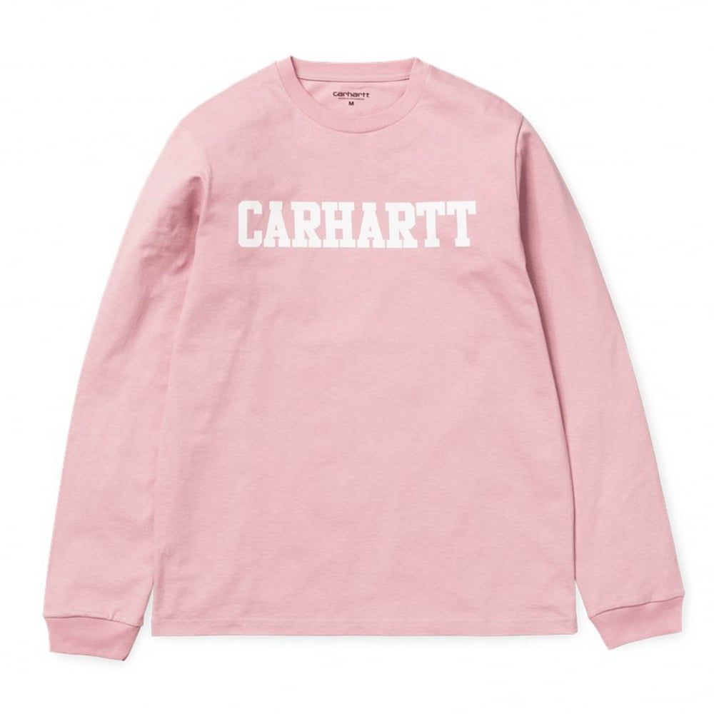 Carhartt long sleeve college t shirt clothing natterjacks for Carhartt long sleeve t shirts white