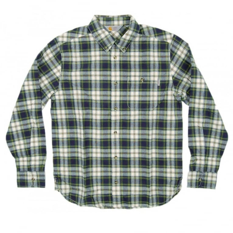 Carhartt WIP Lovett Shirt - Blue Check