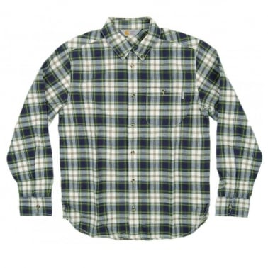 Lovett Shirt - Blue Check