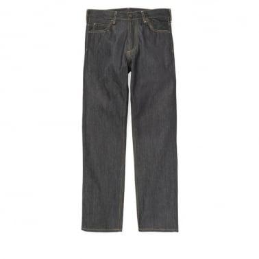 Marlow Pant - Blue Rigid