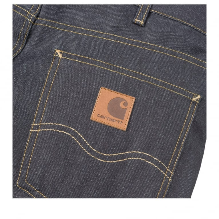 Carhartt WIP Marlow Pant - Blue Rigid