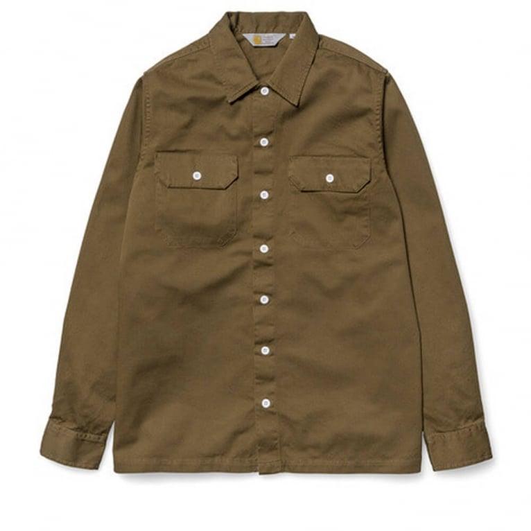 Carhartt WIP Master Shirt - Brown